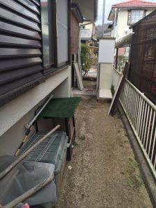 不用品処分の回収に行ってきました。猪名川町