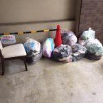不用品処分の回収に行ってきました。宝塚市